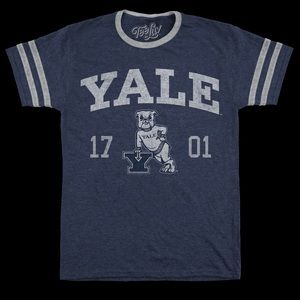 Other - YALE University Bulldog Tee NWT! Super soft